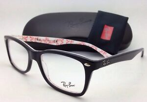 b05f3935d New RAY-BAN Rx-able Eyeglasses RB 5228 5014 53-17 Black on Texture ...