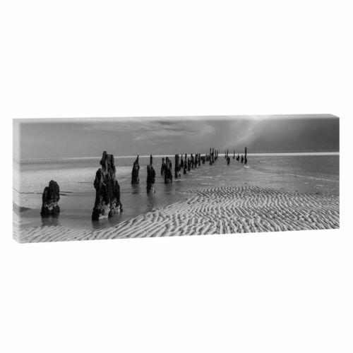 Leinwand Wandbild Bild Kunstdruck Bild Panorama Landschaft Nordsee 231