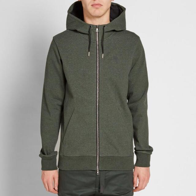 Nike Lab Full Zip Hoodie Olive - size MEDIUM /& LARGE 923791-222 Brand New