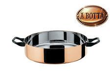 Kasserolle Casserole 24 cm ALESSI La Cintura di Orione 90102/24 Steel and Copper
