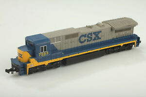 Bachmann N Spectre 7563 Csx Locomotive Fonctionne - Mais Macht Bruits Boue /