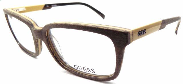 909ffd7ebb GUESS GU1846 LBRN Men s Eyeglasses Frames 54-17-140 Textured Light Brown +  Pouch