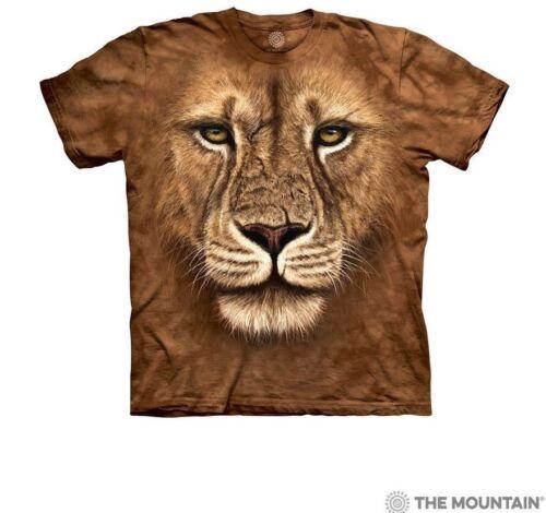 The Mountain 100/% Cotton Kids T-Shirt Tee Lion Warrior S-M-L-XL NWT