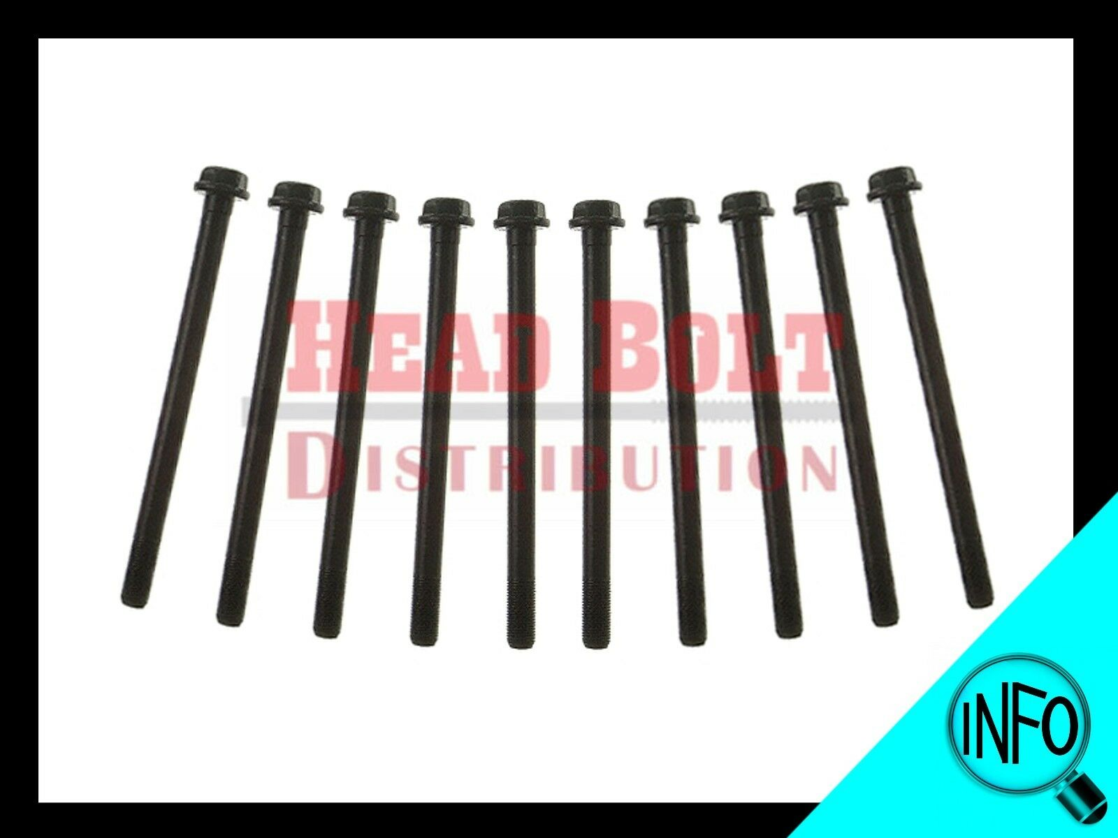 "New Engine Head Bolts For 1985-1995 Toyota 4Runner 2.4L /""22R 22RE 22REC/"""