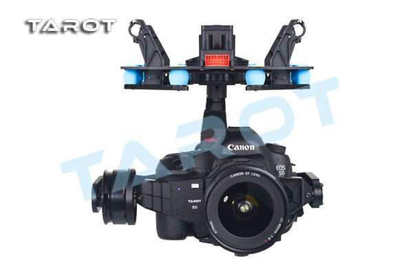 UAV UFO pan-tilt Tarosso 3-axis brushless gimbal PTZ kit for canon 5D Mark TL5D001