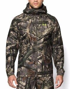 Under-Armour-Mossy-Oak-Treestand-Essential-Gore-tex-Rain-Jacket-XL