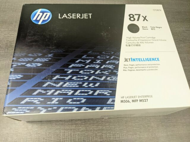 HP CF287X  LaserJet Toner Cartridge - Black High Volume Print Cartridge
