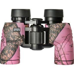 Crossover-8x30-Waterproof-Mossy-Oak-Winter-Binoculars-Pink