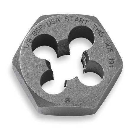 Vermont American Bpd18f28 Hexagon Die,Carbon Steel,Rh,1//8-28,Bsp