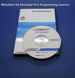 Mitsubishi-PLC-Training-Lessons-Learn-to-program-GX-Dev