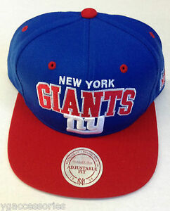 new style aa2b0 cf3c9 Image is loading NFL-New-York-Giants-Mitchell-and-Ness-Plain-