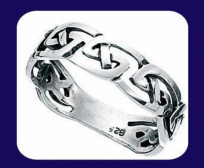 GemäßIgt Silver Celtic Wedding Band 925 Hallmark Ein Bereicherung Und Ein NäHrstoff FüR Die Leber Und Die Niere