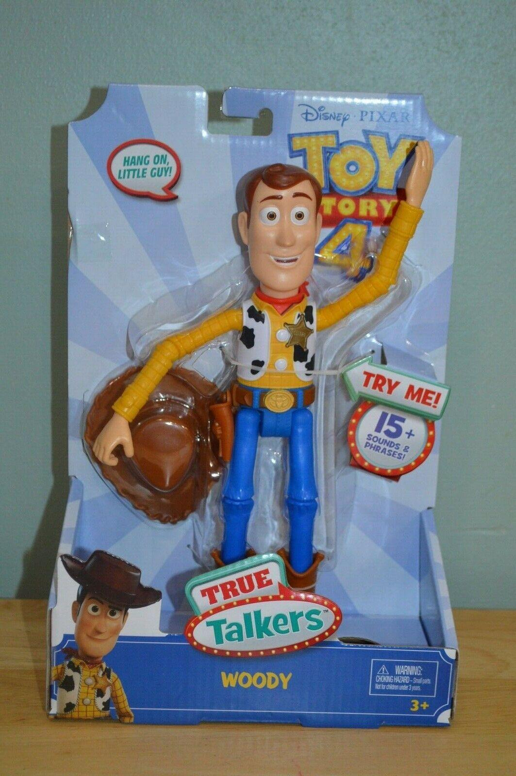 Nuevo Juguete Story 4 verdadero Talkers Woody Figura