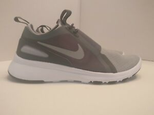 Nike Current Slip On UK 8.5 Wolf Grey Metallic Silver 874160001