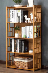 Bamboo-Antique-Style-Cabinet-Book-Shelf-storage-choice-elegant