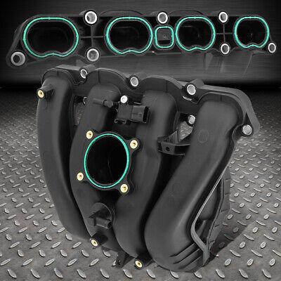 ABS Plastic Black OE Engine Intake Manifold For 10-17 Chevrolet Equinox 2.4L