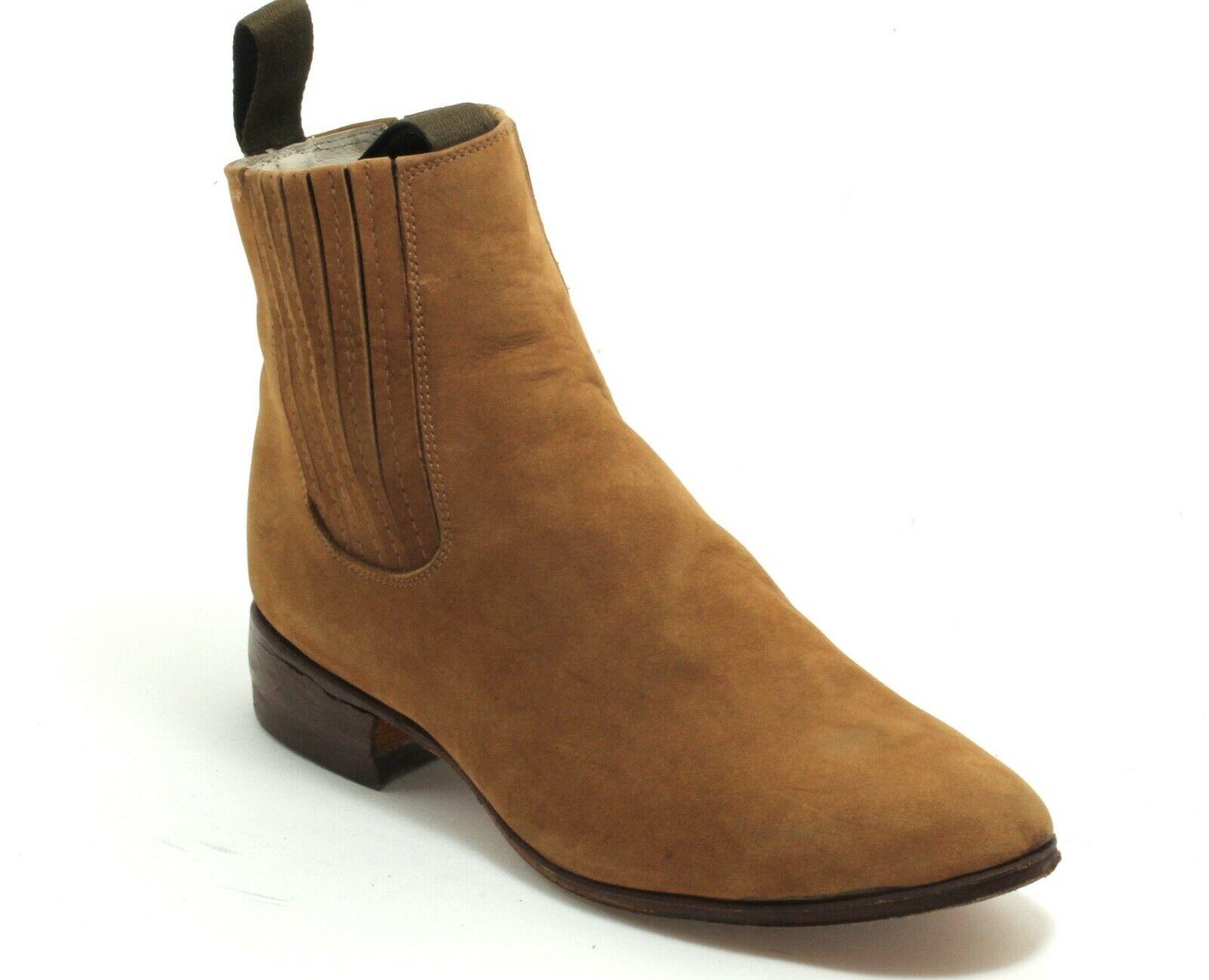 Western bottes bottes De Cowboy catalan Style Line Dance Chelsea bottes velour 39
