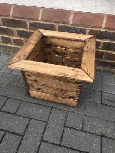 Charles Taylor 40 cm carré en bois JARDINIERE