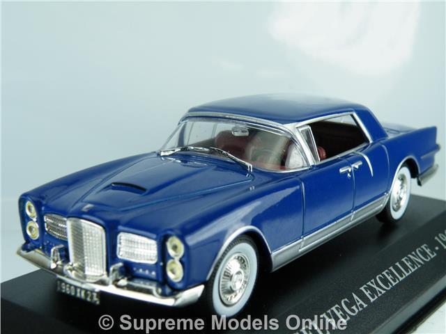 FACEL VEGA EXCELLENCE 1960 CAR 1 43RD SIZE MODEL DARK INTERIOR VERSION R0154X{ }