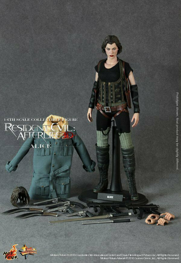 HOT TOYS - 1 6 Resident Evil  Afterlife  Alice  (MMS139)