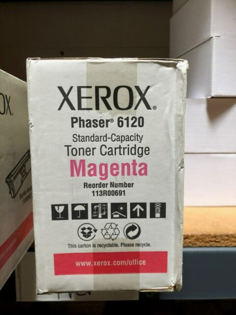 Xerox 113R00691 Magenta Toner Cartridge Genuine OEM Brand New