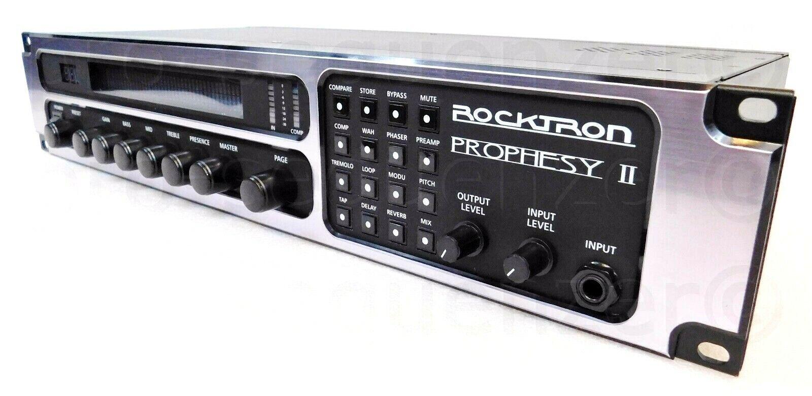 Rocktron Prophesy II 4Channel Tube Guitar Preamp Effects + 1.5 Jahre Garantie