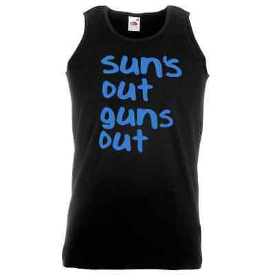 Sun's Out, Guns Out - Printed Vest
