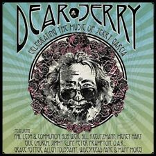 Dear Jerry: Celebrating the Music of Jerry Garcia by Various Artists (CD, Oct-2016, 3 Discs, Rounder)