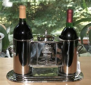 2-Bottle-Wine-Caddy-Chiller-Stainless
