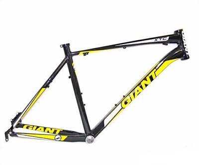 "Giant Xtc 26/"" Fr Aluminum Mountain Bike Frame Black//Yellow X-Large 22/"""