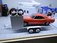 Dirt Track Trailer 1:24 1:25 Scale Diorama