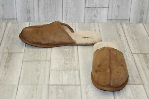 UGG-Scuff-Slippers-Men-039-s-size-14-Brown