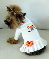M Halloween Boo Turtleneck T Shirt Dog Dress Knit Clothes Pet Medium Pc Dog®