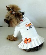 XXXS Halloween Boo Turtleneck T Shirt Dog Dress Knit clothes pet Teacup PC Dog®