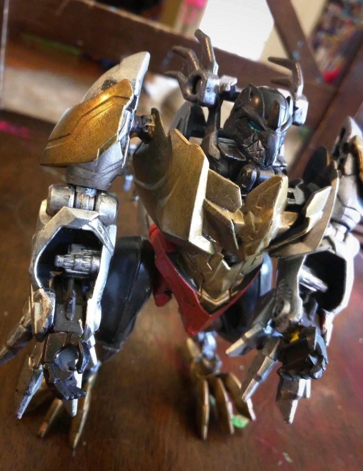 Personalizado Transformers-Pintado Personalizado Deluxe Ratonera
