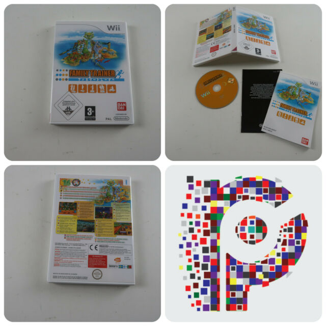 Family Trainer eine Nintendo Wii Spiel komplett in sehr gutem Zustand
