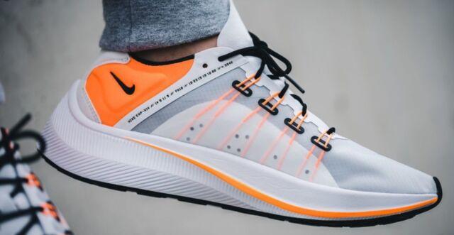 Nike Exp X14 SE Men s Size 9 Ao3095 100 White  Total Orange- Black ... 544860aef6
