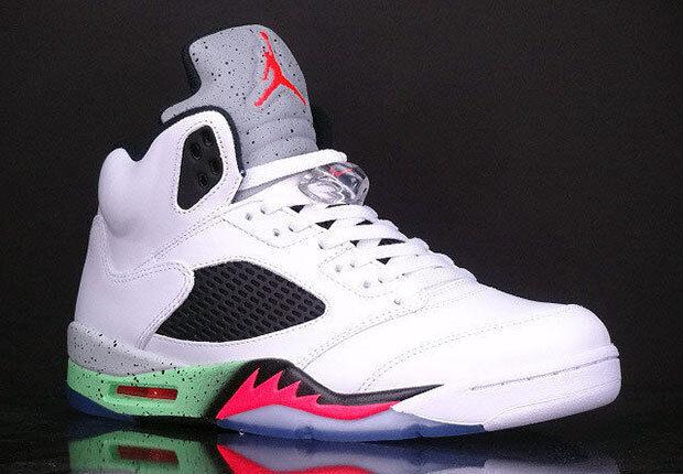 Nike air jordan 5 / vintage pro stelle dimensioni 136027-115 1 2 3 4 5 6, razza d'uva
