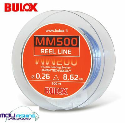 Intelligente Nylon Mulinello Bulox Mm500 - 500 Mt Rivestimento Fluoro Coating Made In Japan Una Vasta Selezione Di Colori E Disegni