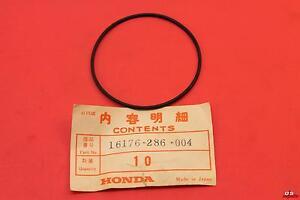 NOS HONDA O-RING SL350 (67X1.9) PART# 16176-286-004