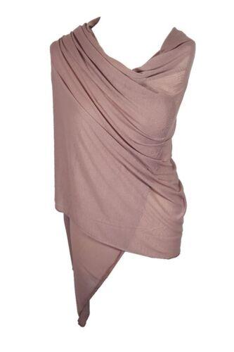 Signore di alta qualità jersey Hijab Donne Elastico grande pianura Grande Sciarpa Maxi Scialle
