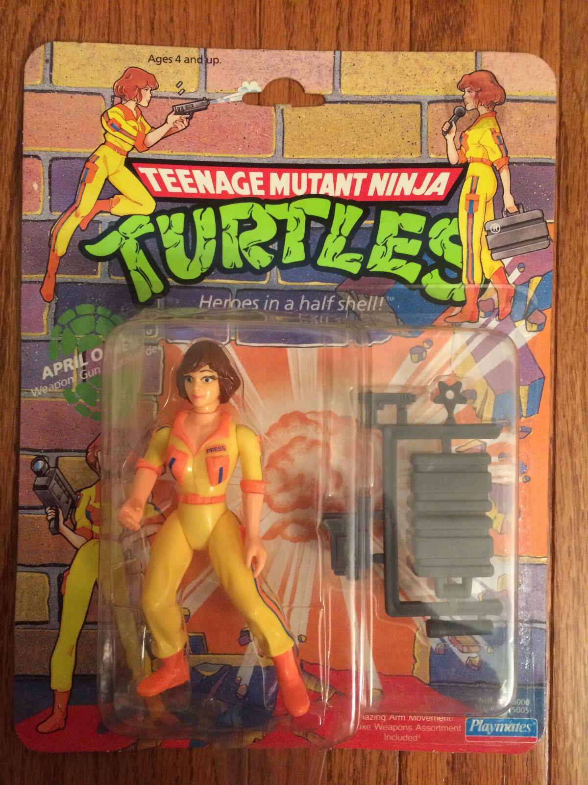1990 Playmates TMNT  Ninja Turtles  (APRIL O'NEIL) Action Figure, NEW  SEALED