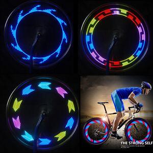 14 LED Cycling Bicycle Wheel Spoke Light Bike Tyre Tire Lamp Signal Band 30 Mode