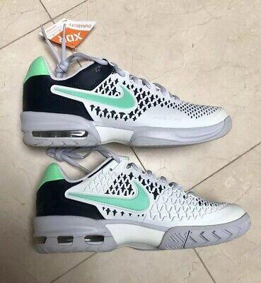 nuevo autentico Precio 50% precio al por mayor New Nike $115 Womens 7.5 Air Max Cage 554874 White/Green/Navy/Grey   eBay