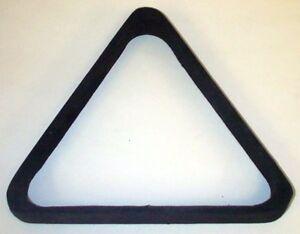 Black Felt Wood Triangle Rack 15  Pool Ball Billiards FREE SHIP + Free  Spots