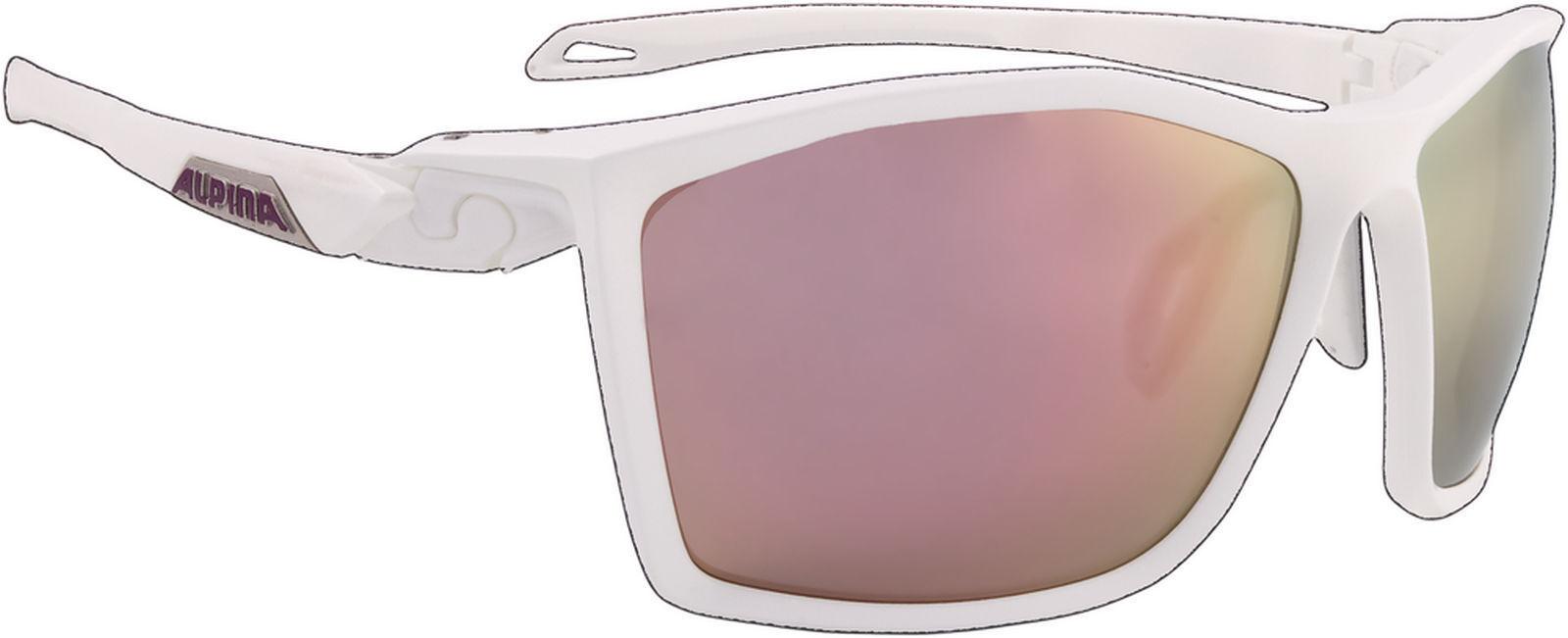 ALPINA Lunettes de sport Twist cinq Miroir en céramique fogstop white