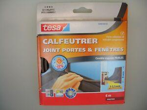 tesa-Moll-E-Profil-Classic-braun-Fensterdichtung-Tuerdichtung-1-3-5mm-9mm-6m