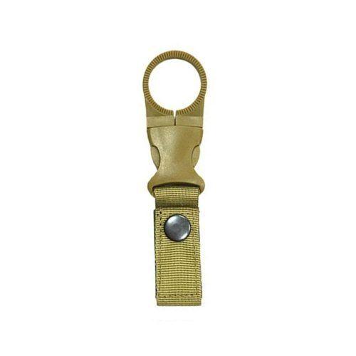 EDC Molle Tactical Nylon Web Buckle Hook Water Bottle Holder Clip Carabiner
