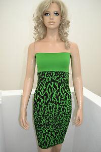 Wolford-Cheetah-Rock-Minikleid-Animal-Print-XS-symply-green-black-formend