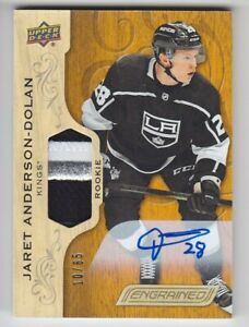 2018-19-UD-ENGRAINED-ANDERSON-DOLAN-RC-AUTO-PATCH-65-AUTOGRAPH-ROOKIE-88-Kings